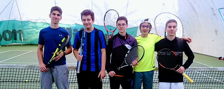 Young Boys Tennis Team Success