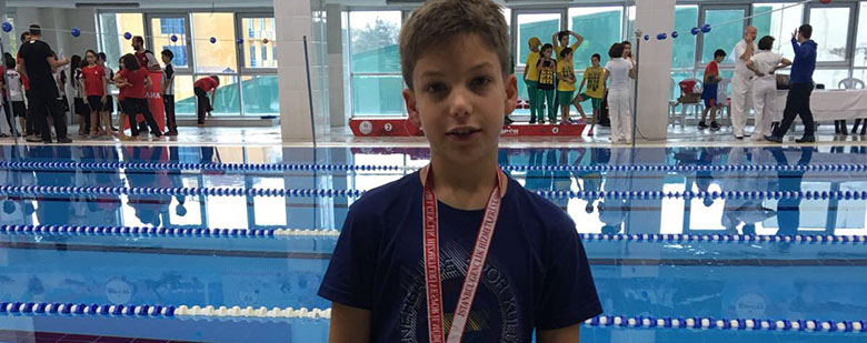 Our student Bora Aral Aykaç's Success on Swimming