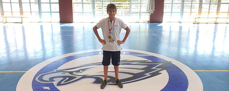 Our student Kerem Öncel took the first place in the Water Polo Festival and the U13 Water Polo Federation Cup with his team.