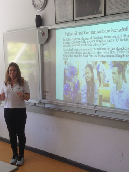 IRMAK HIGH SCHOOL STUDENTS PRESENTED THEIR PROJECT WITH   SUCCESS