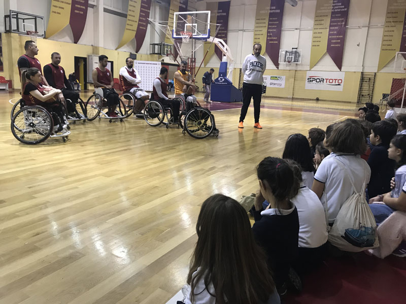 Third grade - Galatasaray Wheelchair Basketball Team Trip