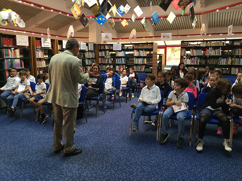 Third Grade- Meeting with Author Süleyman Bulut