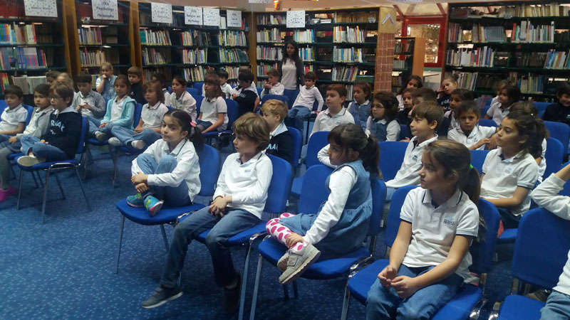 Second Grade - Interviewing with Author Betül Sayın