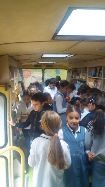 Mobile Library Pafin in Our School