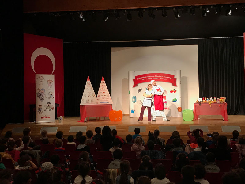 We watched the theater about Healthy Lifestyle with a great interest.