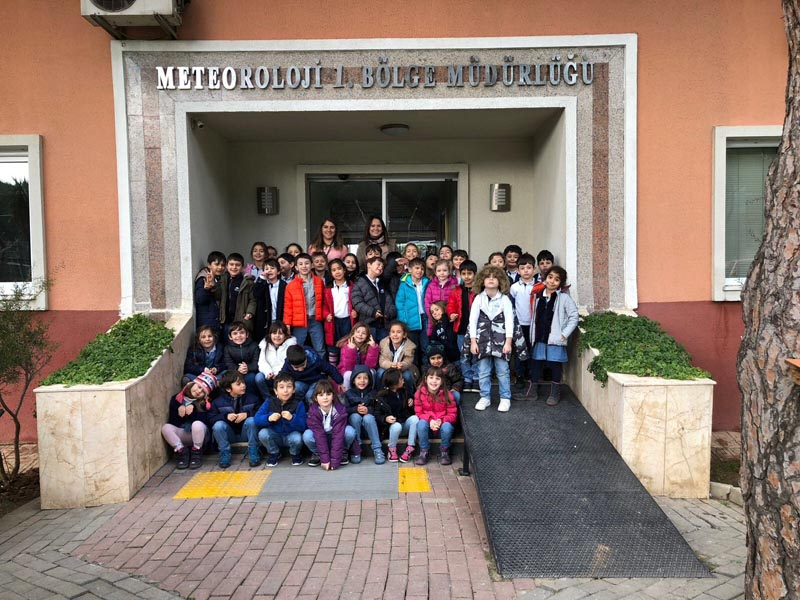 1st Grade Students Visit The Meteorology Station