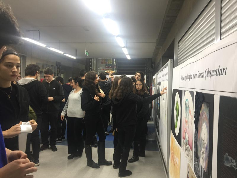 12th Grade Students Exhibition Opening