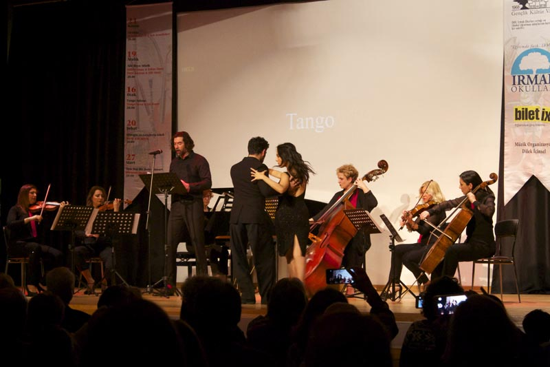 Tango Night with Music and Dance in Irmak Concerts