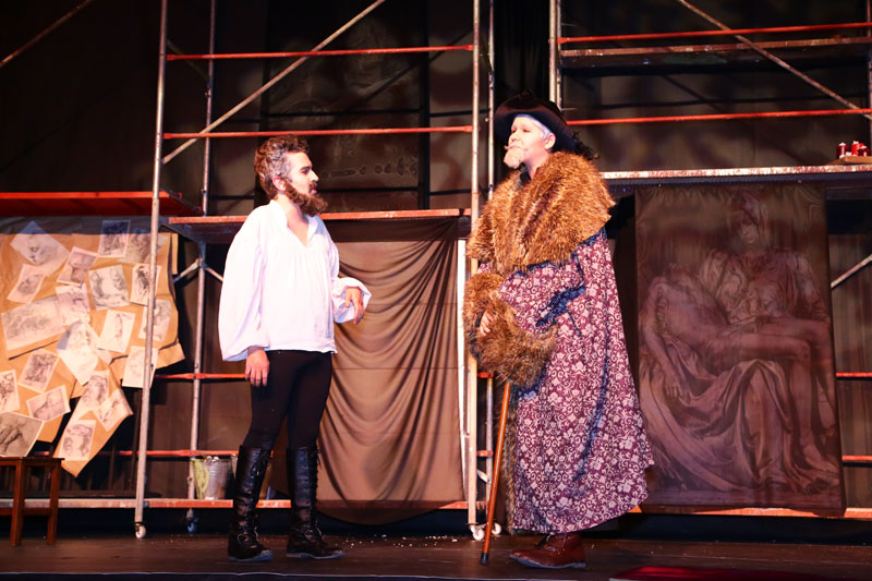Michelangelo Play Has Been Staged