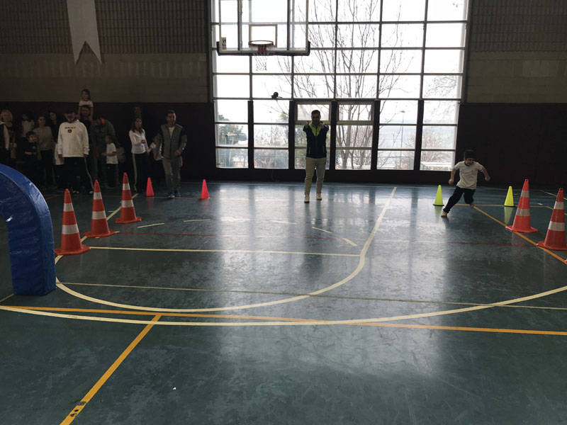 1st Grade Kids Athletics Activity