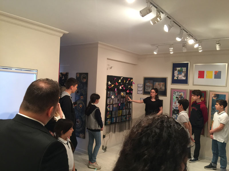 5th Irmak Biennial is in Caddebostan Mine Art Gallery