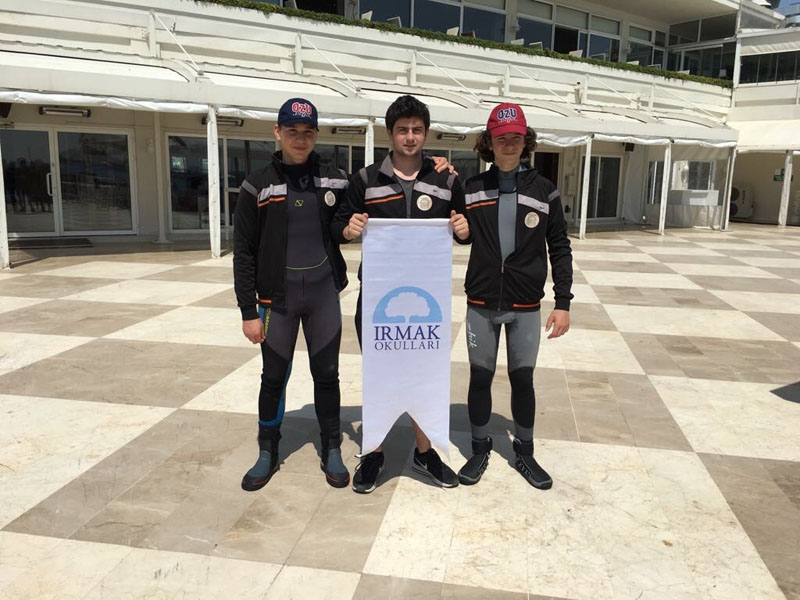 We came in second in Özü Cup Sailing Competition