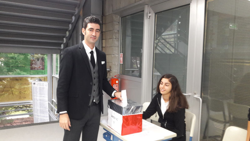 Student Assembly Elections were held at primary
