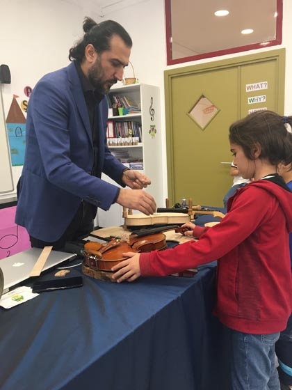 Music Instruments Making Workshop with Luthier Oğuz Demir
