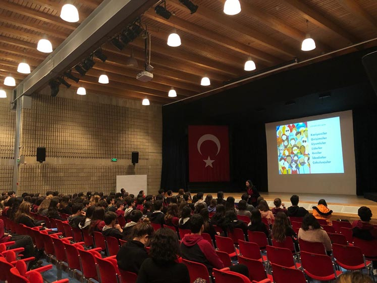 We organized our student seminar about