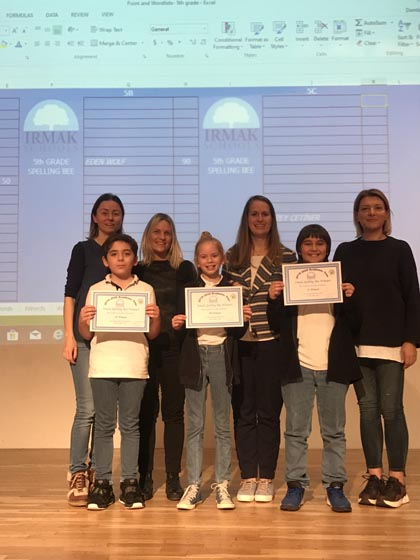 5th Grade - Spelling Bee