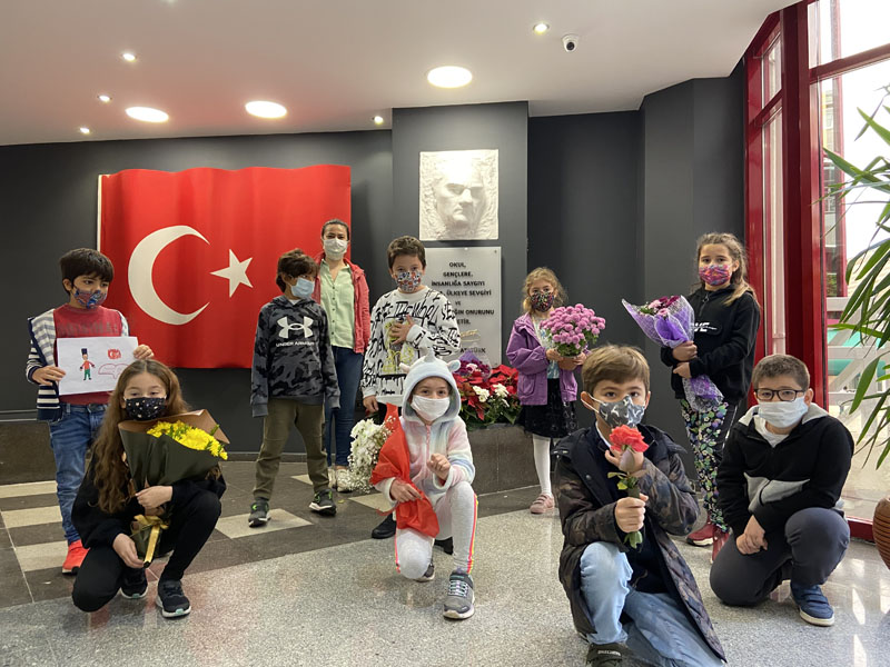We commemorated Atatürk once again with great respect and appreciation.
