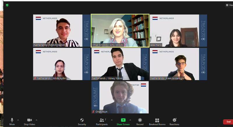 TIMUN 2021 (Virtual Conference from Üsküdar American College, Istanbul)