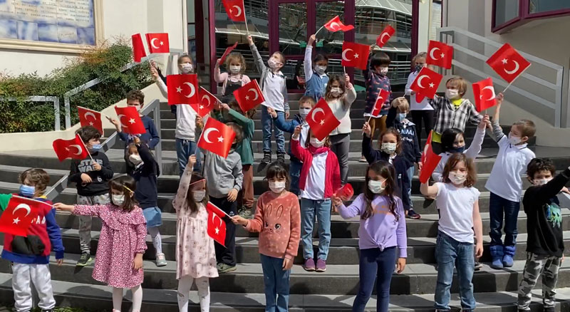 We Celebrated National Sovereignty And Children's Day  On 23 April
