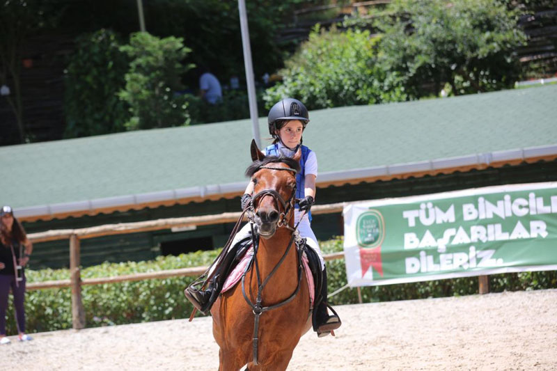 One of our primary school students, Tanem Erdem, came first in the