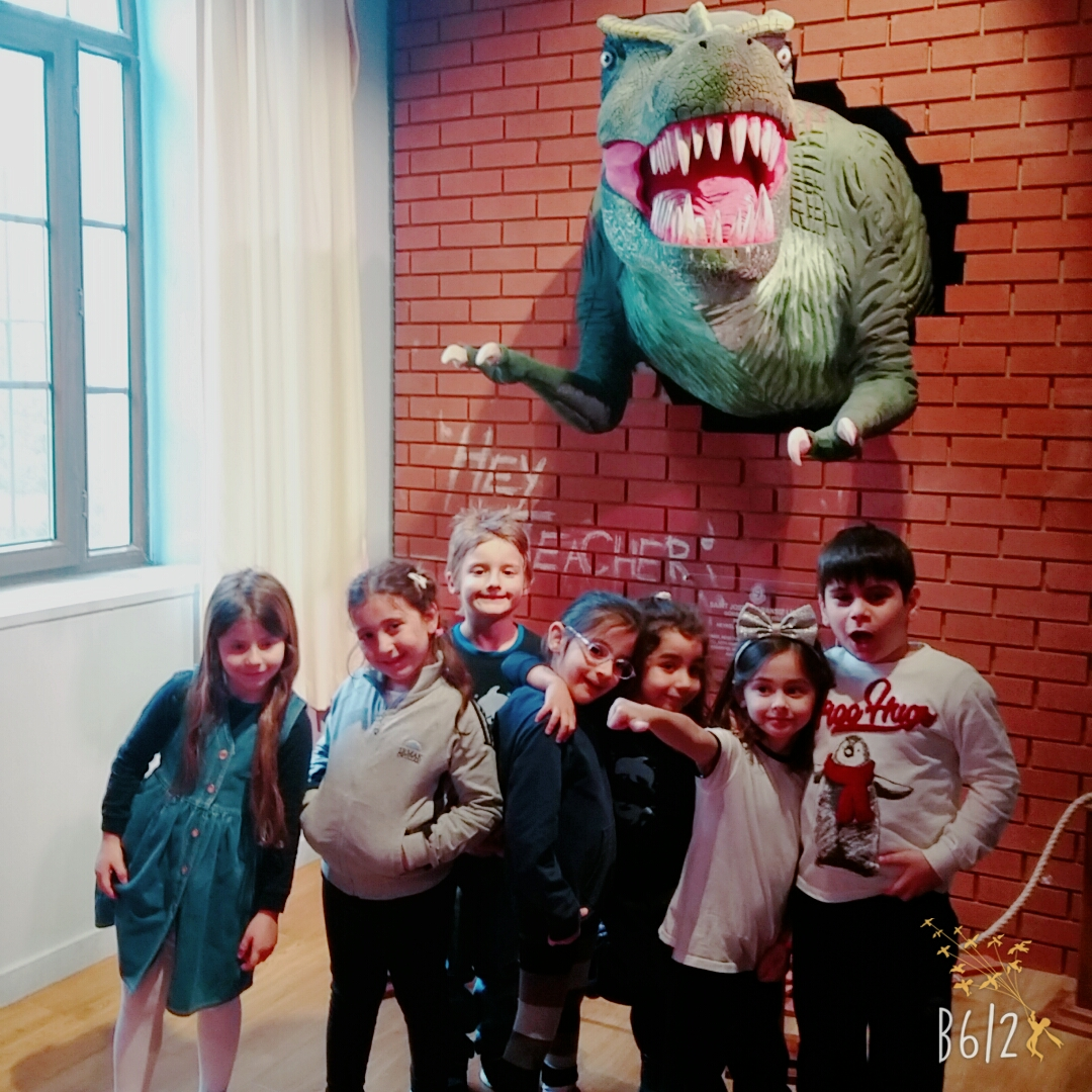 Field Trip of Preschool Grades to Museum of Natural Sciences