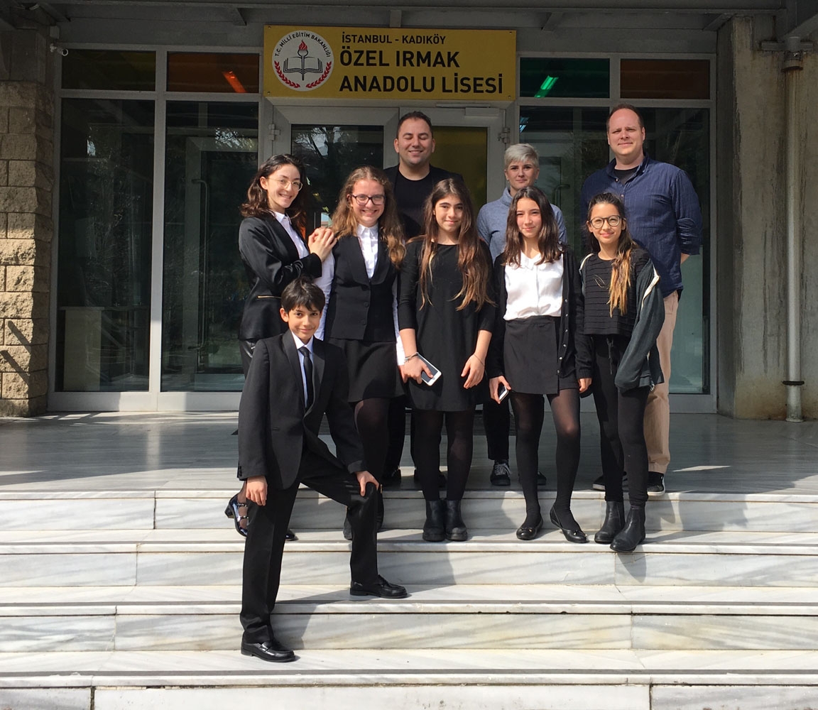 JMUN Club students were at Koç JMUN Conference