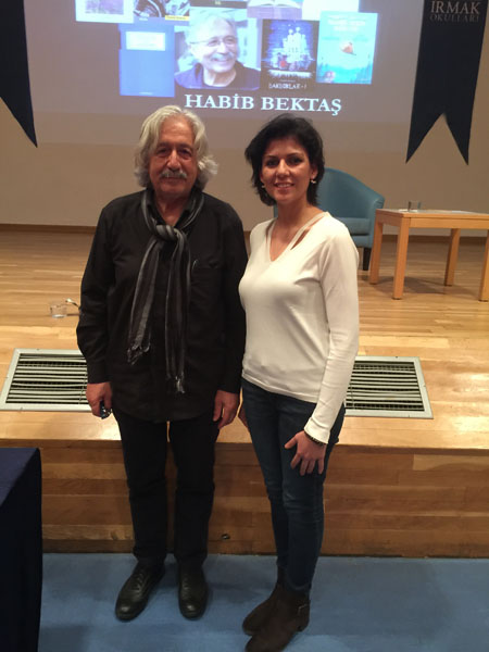 Seminar with Author and Poet Habib Bektas :'In Short'