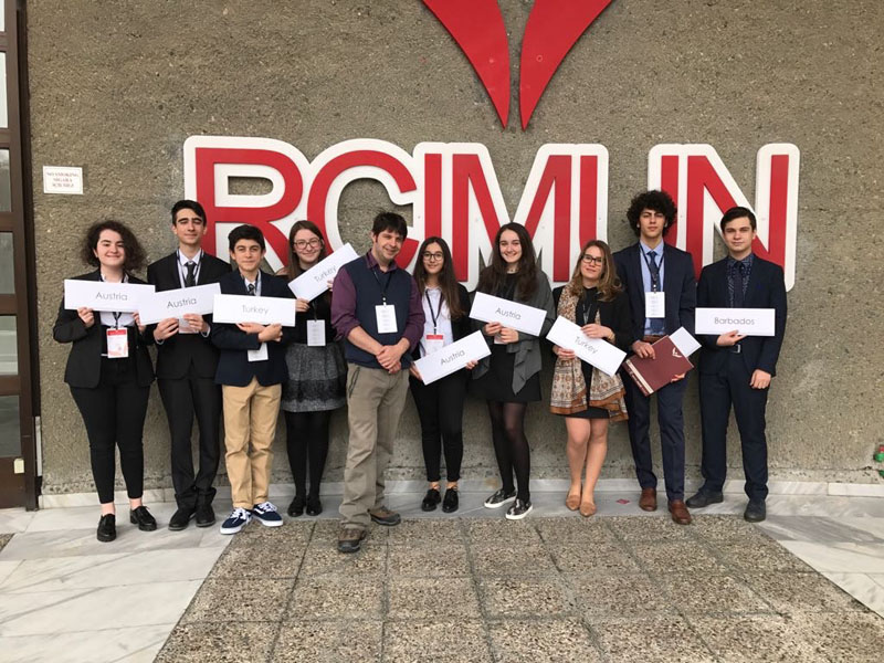 Irmak High School M.U.N. Delegates Attended The RCIMUN 2017 Conference