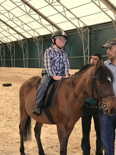Irmak Schools Hippotherapy Activity