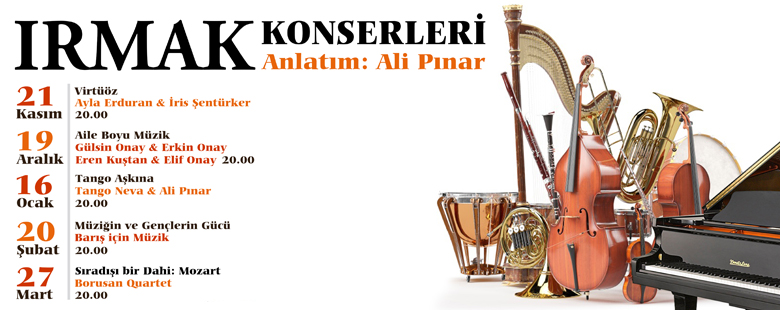 Irmak Concerts are starting!