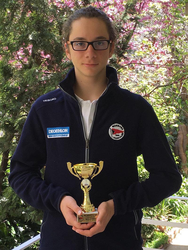 Our student Murat Varlık came in first in Marmara Sailing Club General Classification