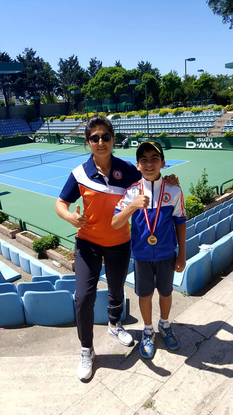 Kuzey Yoleri's Tennis Success
