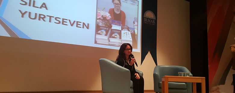 22nd Irmak Book Days- Our Final Guest :A Young Writer from Irmak Schools, Sıla Yurtseven
