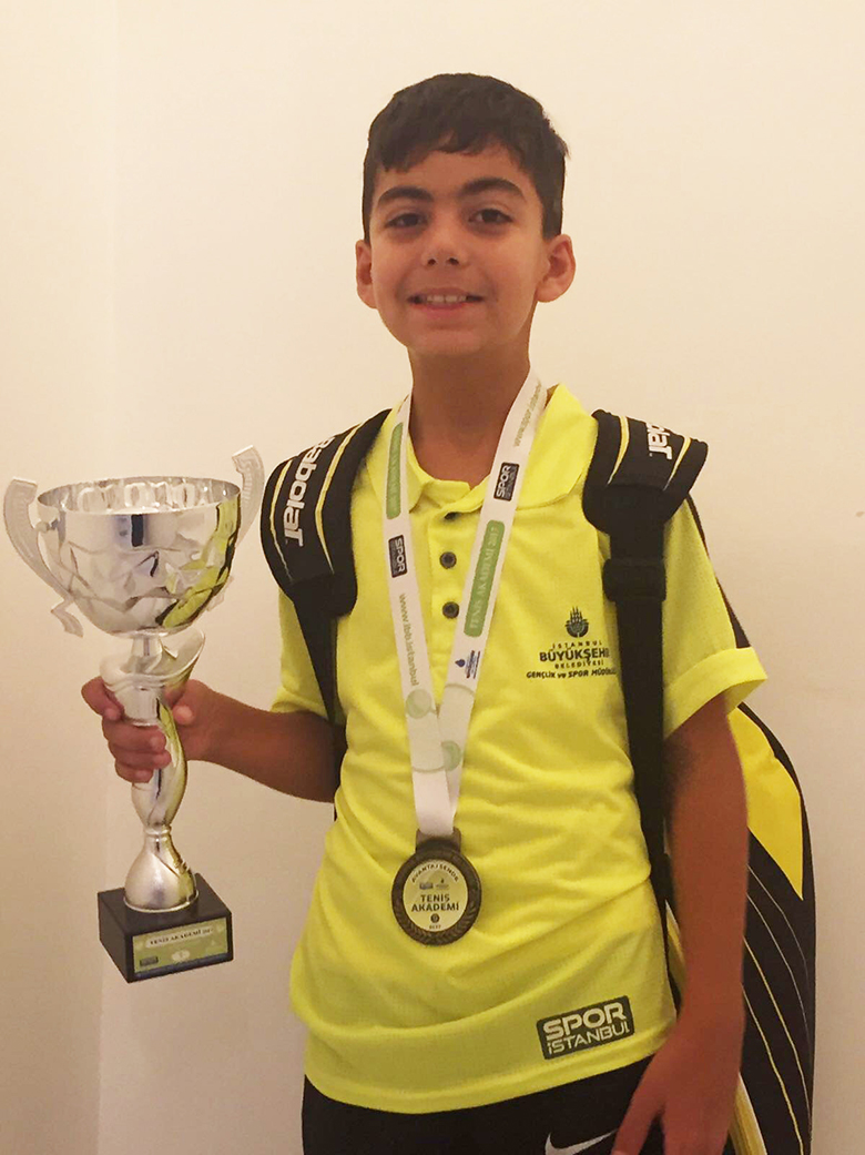 Our student Kuzey Yoleri's Success on Tennis