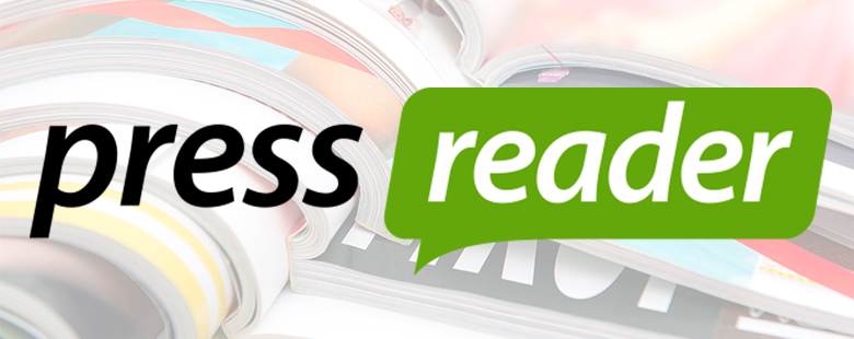 Our subscription to an electronic magazine and newspaper service PressReader has begun.