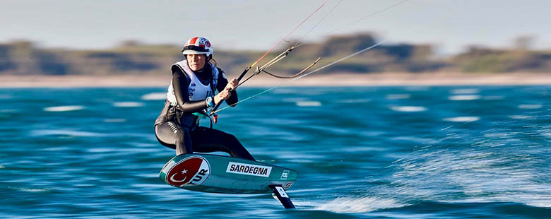 Our high school student Derin Atakan participated in the World Championship with the Formula Kite National Team.