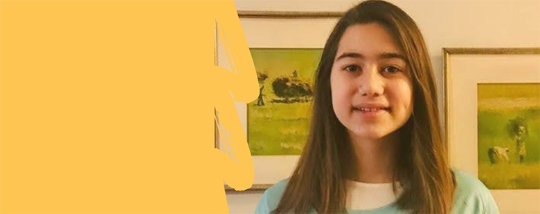 Selin Erbaşol, one of our 7th grade students, became one of the first 3 projects in Istanbul with the project called