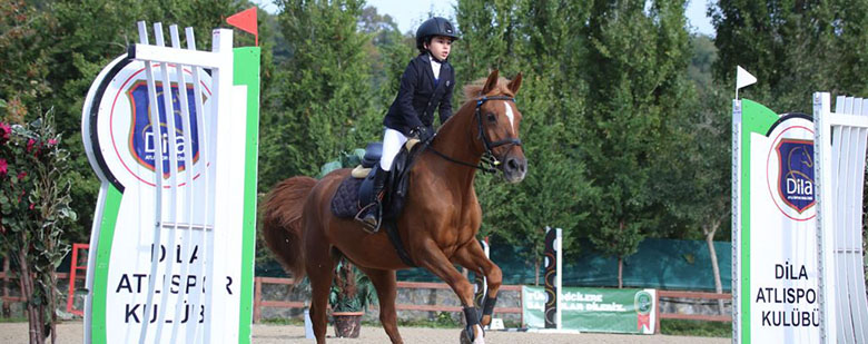 Our Student Tanem Erdemden Wins 3 First Places in Equestrian Competition