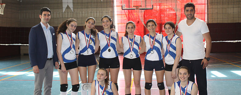 Volleyball Accomplishment of Girls Young Team
