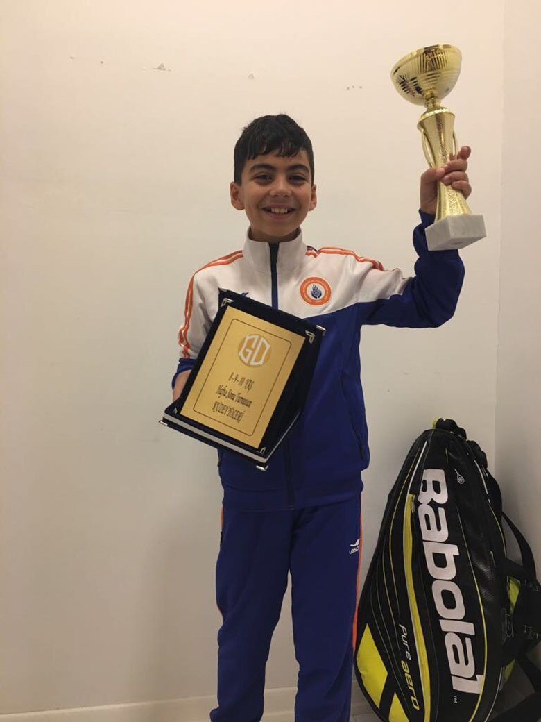 Kuzey Yoleri's Success on Tennis