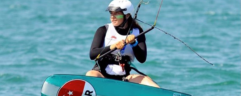 Our High School Student Derin Atakan Became the First Female Athlete of Kite National Team with Formula!