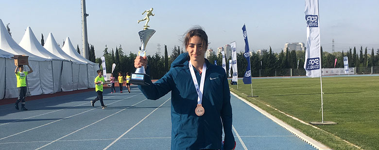 Irmak Dinç's Athleticism Success