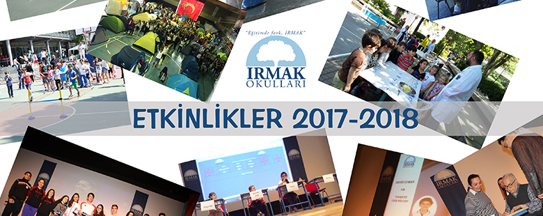 2017-2018 Irmak Schools Activity Booklet
